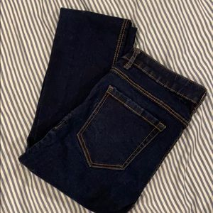 Dark wash jeans- trafaluc denim